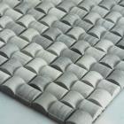 stone glass mosaic tile square grey pattern washroom wall marble backsplash floor tiles sgs22-94