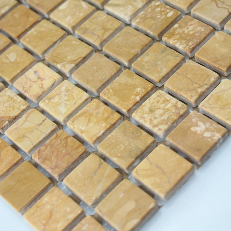 stone glass mosaic tile square gold pattern washroom wall marble backsplash floor tiles sgs9515b
