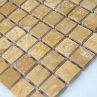 stone glass mosaic tile square gold pattern washroom wall marble backsplash floor tiles sgs95-15b