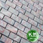 stone glass mosaic tile strip red pattern washroom wall marble backsplash floor tiles sgs110-g1530