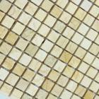 stone glass mosaic tile square yellow pattern washroom wall marble backsplash floor tiles sgs73-15b