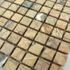 stone mosaic tile square gold pattern washroom wall marble backsplash floor tiles sgsylf15b