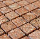 stone mosaic tile square red pattern washroom wall marble backsplash floor tiles sgshgy-15a