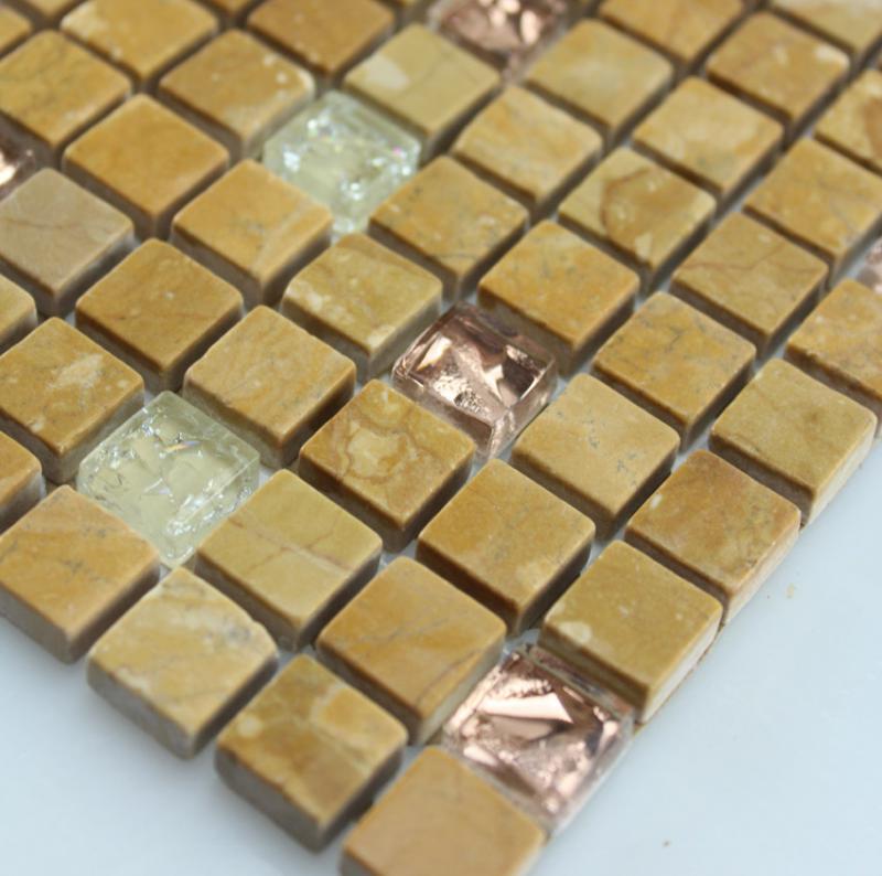 Stone Glass Mosaic Tile Marble Backsplash Wall Tiles