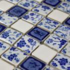 wholesales porcelain square mosaic tiles design porcelain tile flooring kitchen backsplash qw633