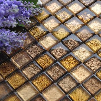glass mosaic tiles blacksplash crystal backsplash tile bathroom wall tiles floor stickers cb033