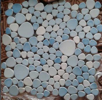 wholesale porcelain pebble mosaic tiles design porcelain tile flooring kitchen backsplash xx001