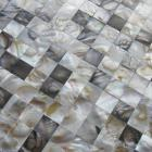 mother of pearl tile shower liner wall backsplash white square bathroom shell mosaic tiles wp-100