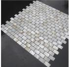 mother of pearl tile shower liner wall backsplash white square bathroom shell mosaic tiles mc-008