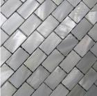 mother of pearl tile shower liner wall backsplash white square bathroom shell mosaic tiles mc-005