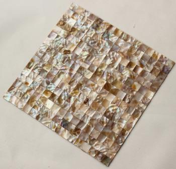 shell mosaic tiles cheaper  mother of pearl tile backsplash seashell mosaics pearl wall tile mb06