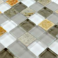 stone glass mosaic tile smoky mountain square tiles with marble backsplash wall stickers sg120