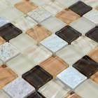 stone glass mosaic tile smoky mountain square tiles with marble backsplash wall stickers sg123