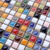glazed porcelain tile backsplash kitchen bathroom wall stickers ceramic mosaic floor tiles ta401
