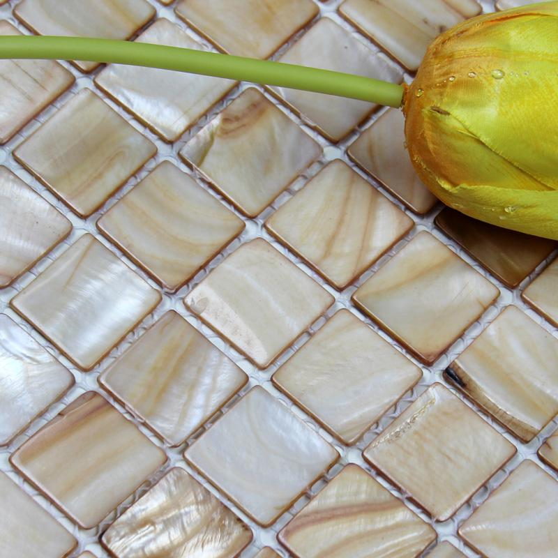 Seashell Backsplash Tile
