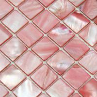 shell tiles 100% pink seashell mosaic mother of pearl tiles kitchen backsplash tile design bk015