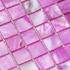 shell tiles 100% rose red seashell mosaic mother of pearl tiles kitchen backsplash tile design bk016