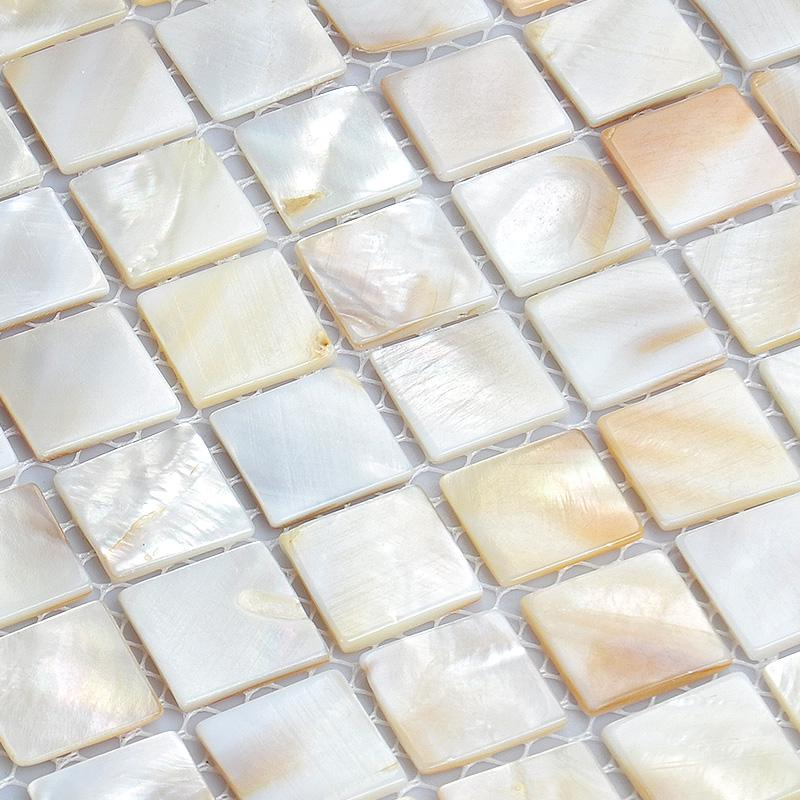 shell tiles 100 natural seashell mosaic mother of pearl tiles kitchen. Black Bedroom Furniture Sets. Home Design Ideas