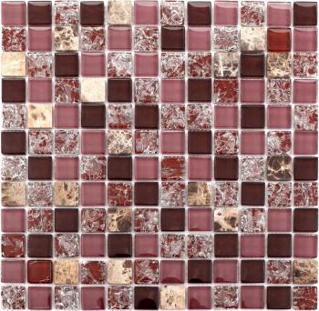 stone glass mosaic tile smoky mountain square tiles with marble backsplash wall stickers 10010