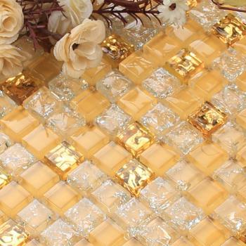 glass mosaic tiles blacksplash crystal mosaic tile bathroom wall crack stickers cheaper tiles n009