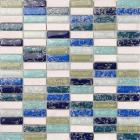 stone glass mosaic tile smoky mountain square tiles with marble backsplash wall stickers k8842b