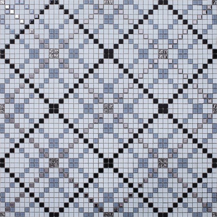 Wholesale Vitreous Mosaic Tile Pattern Glazed Crystal Glass Backsplash