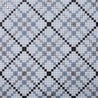 vitreous mosaic tile pattern glazed crystal glass backsplash kitchen design art  wall tiles  s1509-2