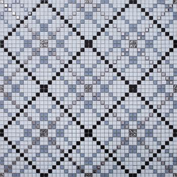 vitreous mosaic tile pattern glazed crystal glass backsplash kitchen design art  wall tiles  s1509-2