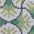 glass mosaic tile crystal backsplash wall tiles puzzle mosaic tile cream white glass tile  pt19