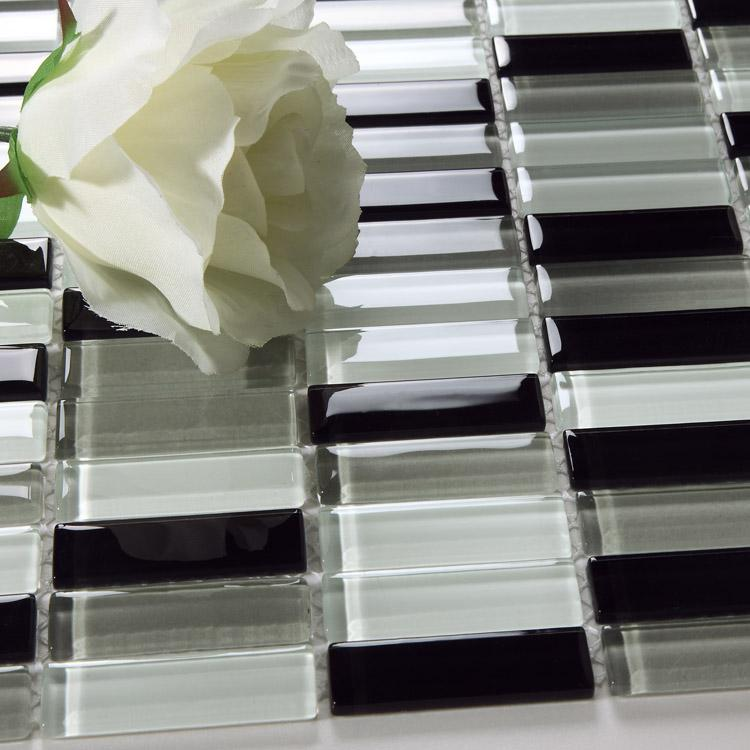 Wholesale Mosaic Tile Crystal Glass Backsplash Kitchen Countertop Desi