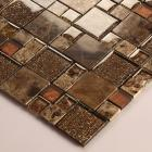 stone glass mosaic tile smoky mountain square tiles with marble backsplash wall stickers 632
