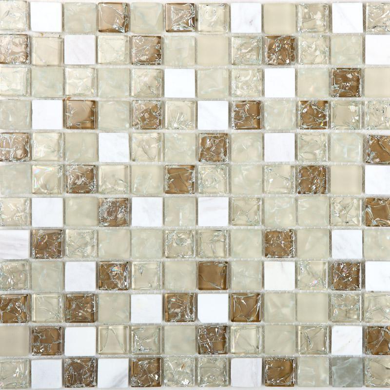 stone glass mosaic tilessmoky mountain square tiles with