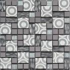 metallic backsplash tile plated 304 stainless steel metal crystal glass mosaic wall decor kk1005