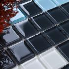 glass mosaic tile crystal backsplash wall tiles puzzle mosaic tile cream white glass tile cl102s