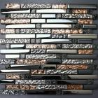 gass tile subway brown interlocking mosaic tiles for fireplace wall border kitchen backsaplsh glass mosaic tile ks180