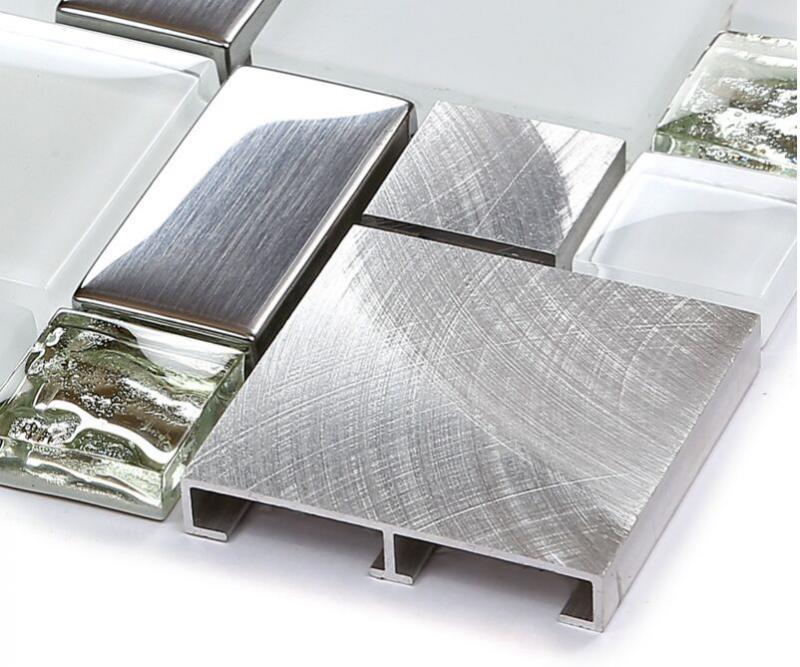 Metal Backsplash Tile Brush 304 Stainless Steel Glass