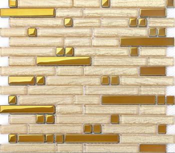 metal kitchen backsplash tiles 304 stainless steel mosaic gold metal glass blend glass mosaic diamonds b902