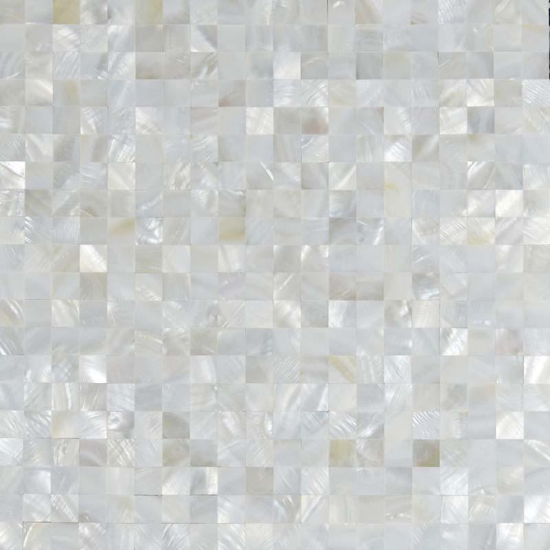 Wholesale Seamless Mesh Mounted Mother Of Pearl Tile