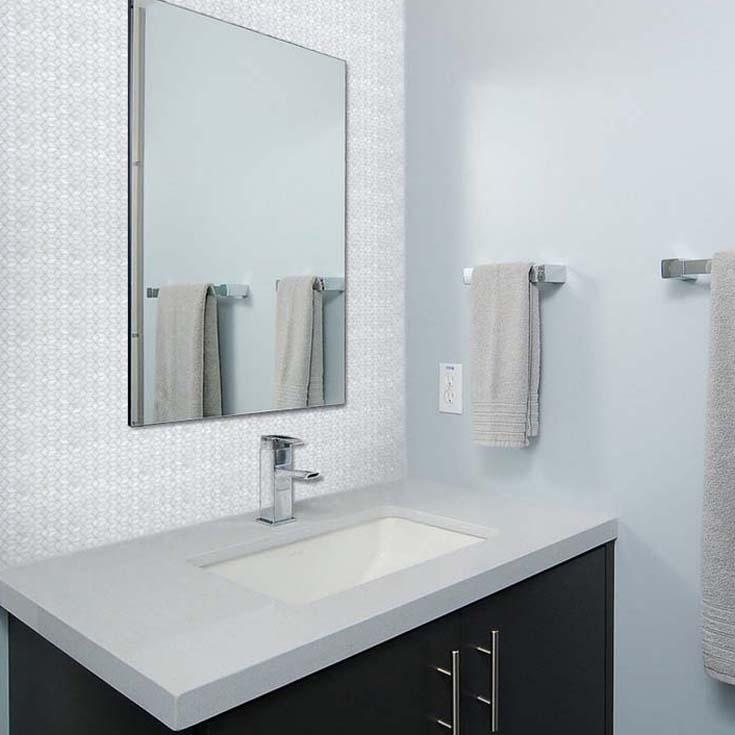 Mother Of Pearl Mosaic Tile. Indoor Mosaic Tile Wall Plain. Mother ...