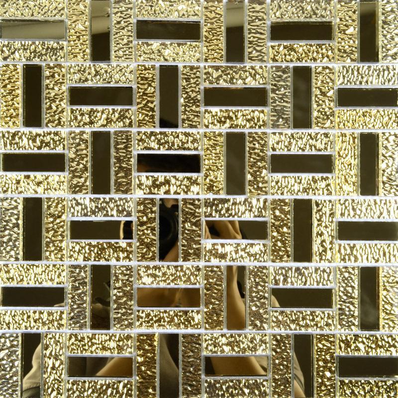 Crystal glass mirror wall tile cheap glass mosaic tiles mgt138 - Mirror mosaic tile backsplash ...