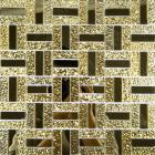 crystal glass mirror wall tile cheap glass mosaic tiles MGT138 kitchen backsplash bathroom tiles